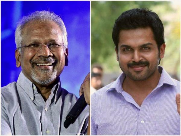 Now Karthi quits Mani Rathinam's film
