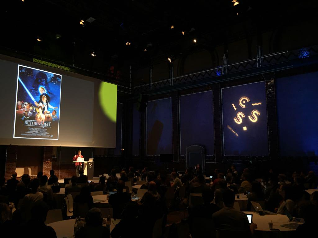 Here we are! #cssconfeu http://t.co/PaTa1hyKuc