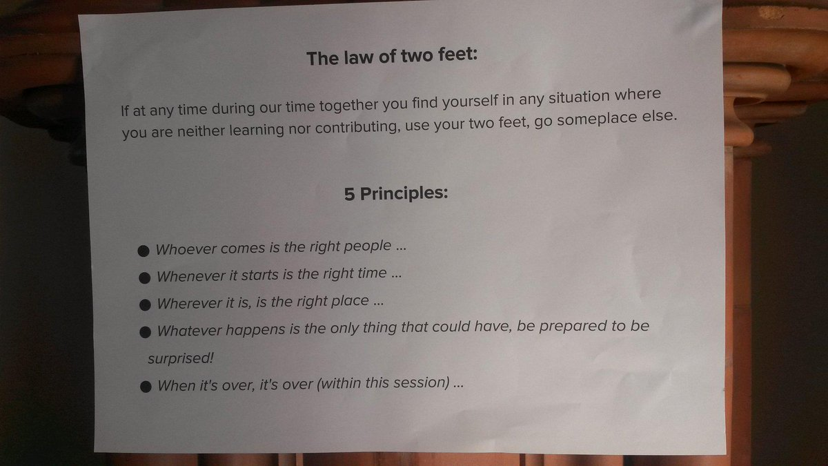 The rules (such as they are) of #gccy15, which is where I am today http://t.co/6gdYi5GVtO