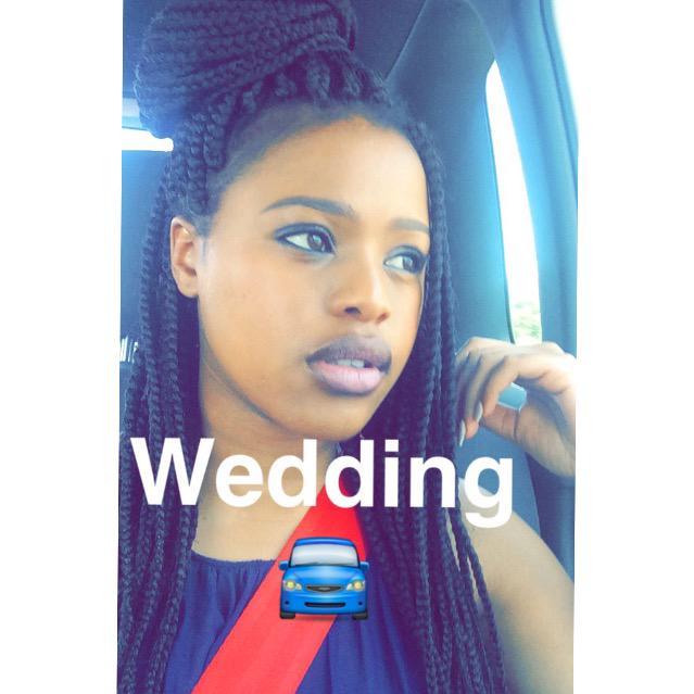 Natasha Thahane On Twitter Quot Wedding 🚘 ️ Http T Co