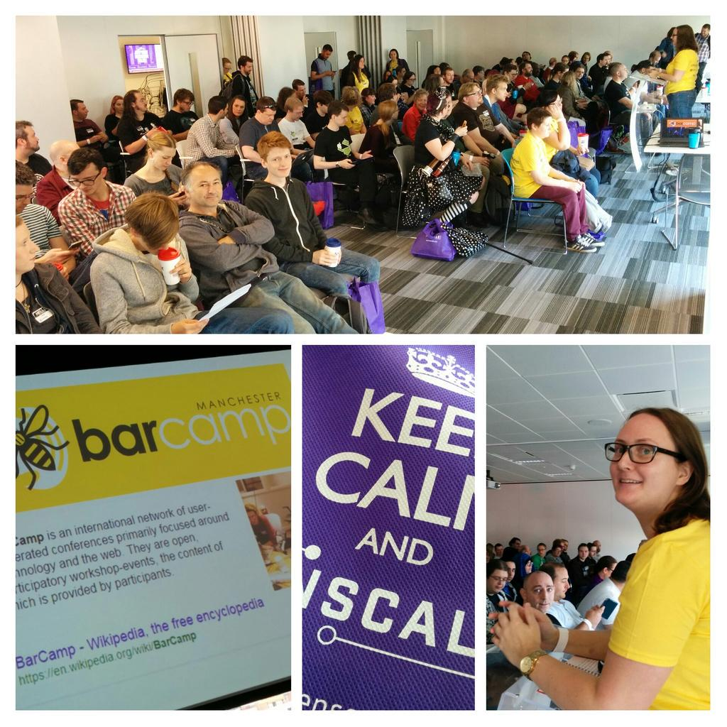 Yay!!! BarCamp begins @BarCampMCR #BCMCR6 http://t.co/ybVisSm3w9