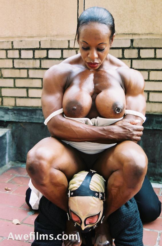 Congratulate, female muscle domination stories consider