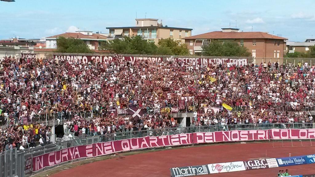 Livorno-Spezia 1-2.