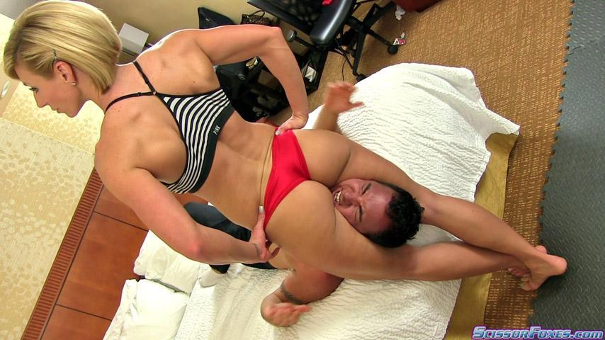 women sex scissor legs