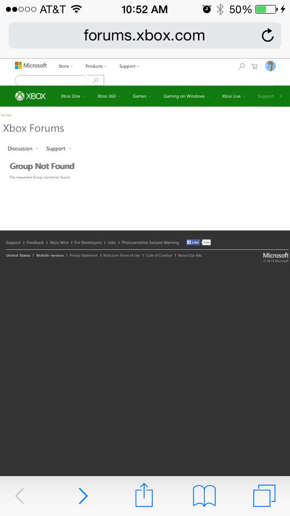 xbox support forums