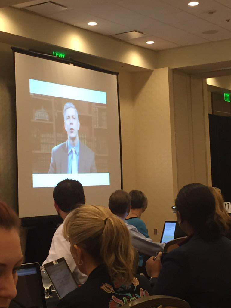 Welcome from @arneduncan at #TTLSummit! #edvoice @heathergauck @AAFTP http://t.co/6dribWLsb1