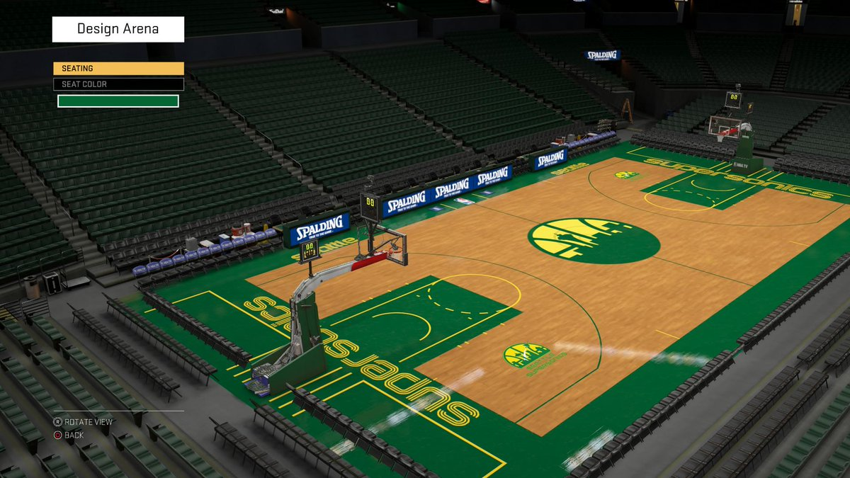 Here's the Arena: