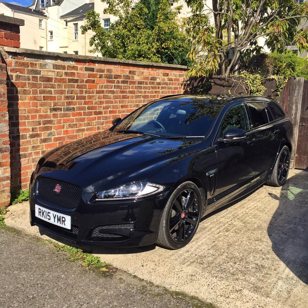josh james on twitter my new car jaguar xf sportbrake r sport black edition. Black Bedroom Furniture Sets. Home Design Ideas