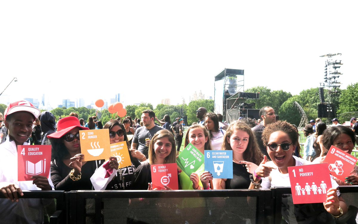 The doors to the #GlobalCitizen festival ARE OPEN! If you're here, tell us which of the #GlobalGoals YOU care about. http://t.co/MuHPOrTgFM