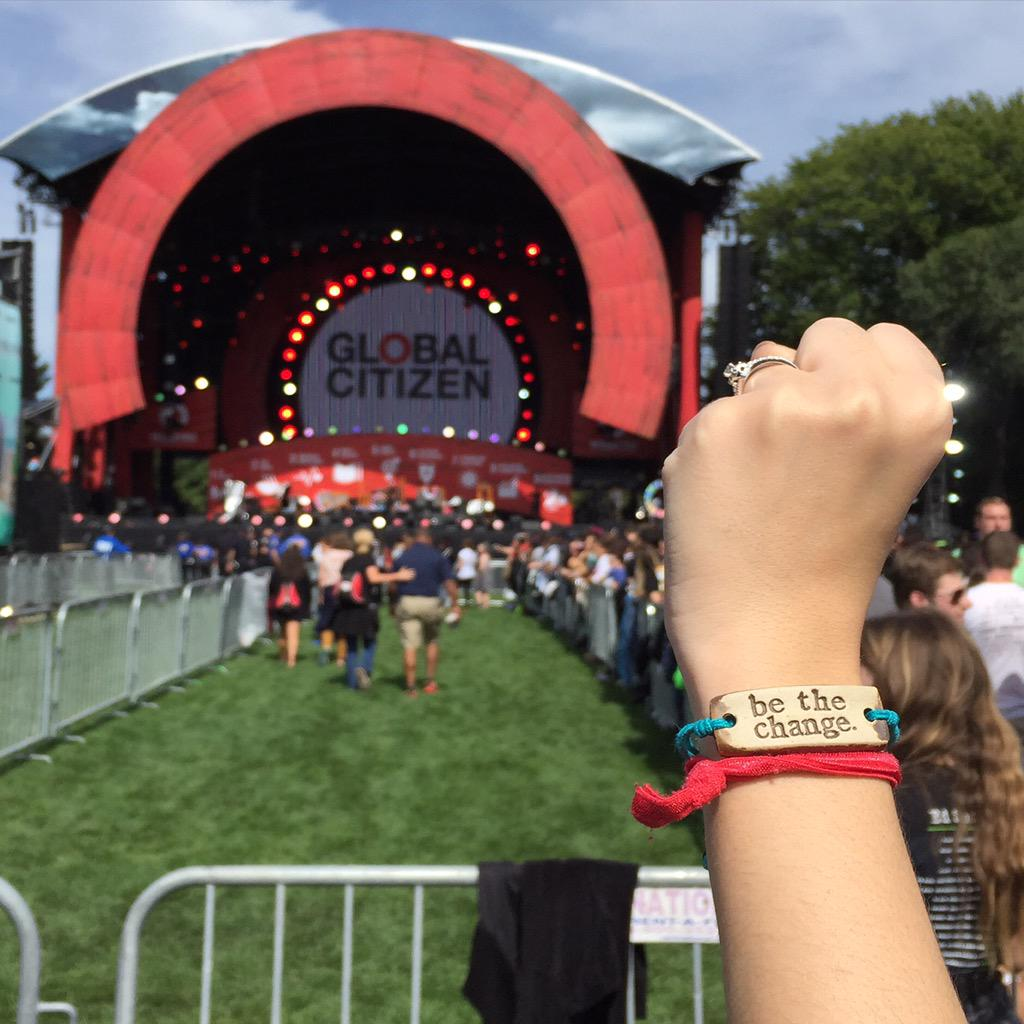 We're ready for #GlobalCitizen 2015! We support #GlobalGoals #Goal6: Clean Water & Sanitation.   #bethechange http://t.co/ip24c0KhLL