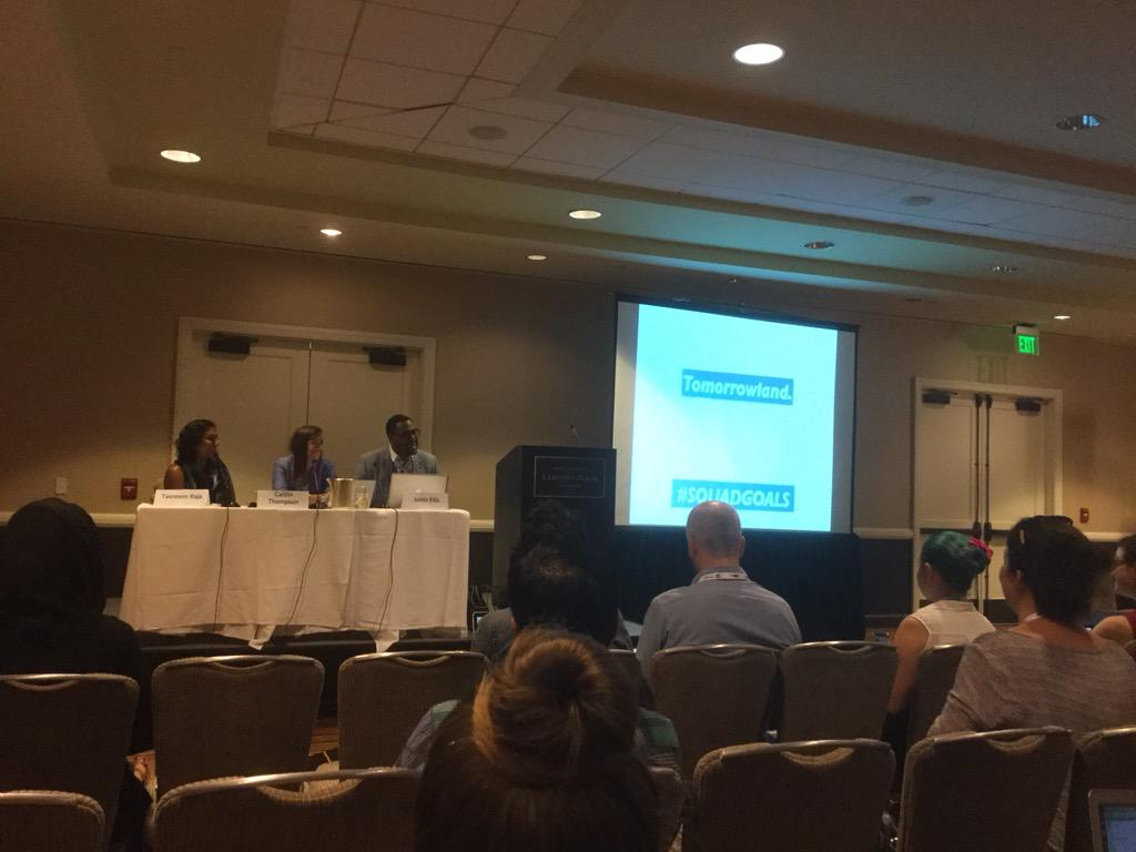 PowerPoint gets a round of applause at #ona15diversity as technical issues are resolved  #ona15 http://t.co/3fTnX2i0UL