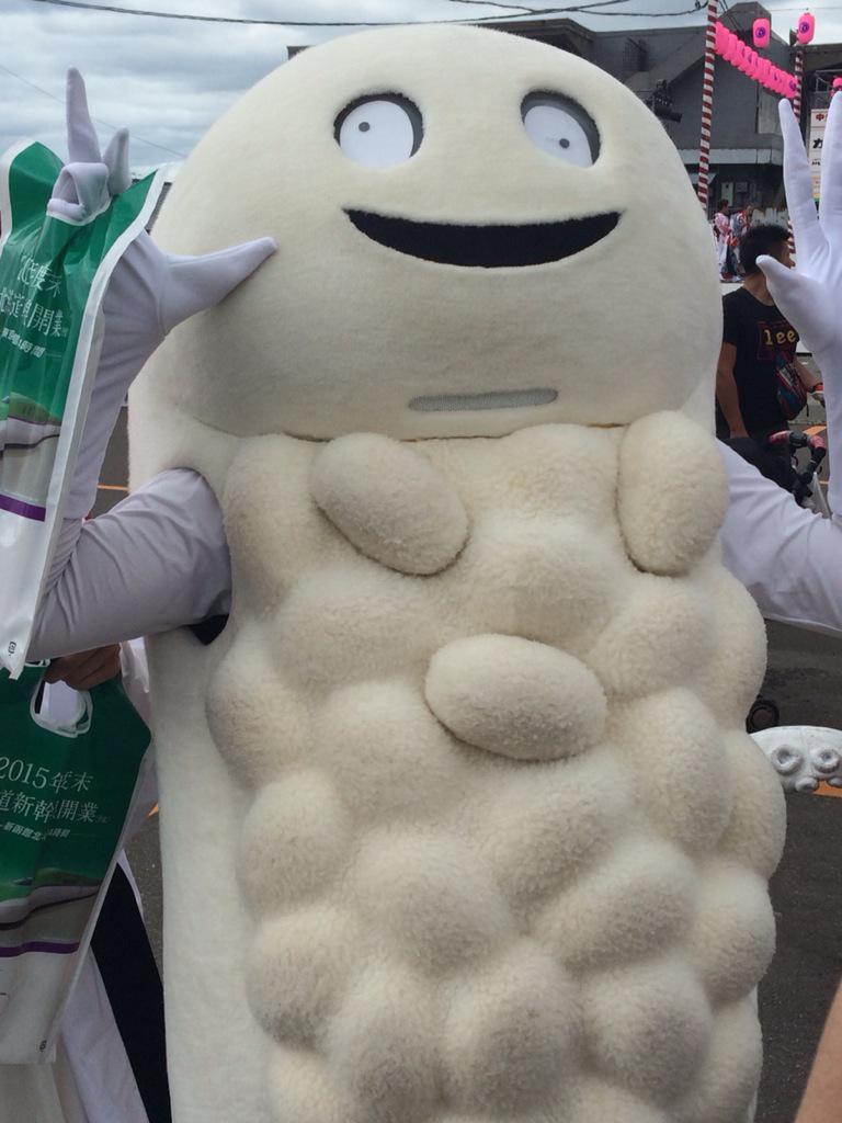 RT @hanaco_000 ずーしーほっきーは私イチオシのゆるキャラですよ!!!!!(胸元のお米3粒は取れます) pic.twitter.com/4WEEoRL7nt