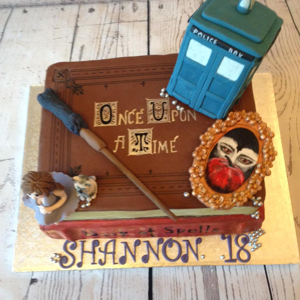 Ouat Birthday Cake