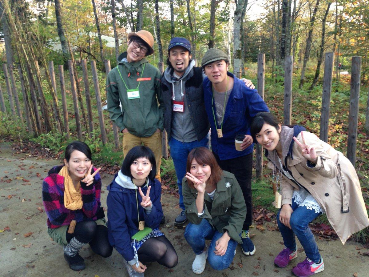 森のミュージックフェス、2日間、終了!来てくれた皆さん、スタッフの皆さん、出演者の皆さん、本当にありがとうございました!写真上は、橋詰くん、miya takehiro、中田雅史、下は、MOCCAの二人、住岡莉奈さん、山崎あおいさん! http://t.co/Mk858KmMQC