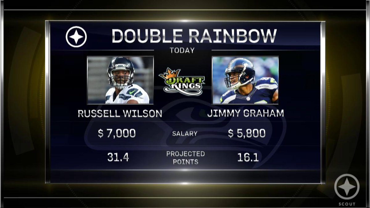 A triple rainbow for Week 3? Watch our Scout Fantasy Show presented by @DraftKings. #ScoutArmy http://t.co/ron9KiyRFW http://t.co/vC44lH5BCk