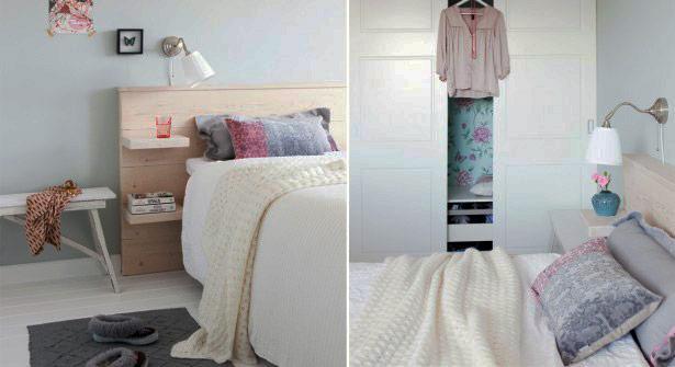 Ames bricoleuses, foncez ! Une tête de lit très pratique avec étagères intégrées http://t.co/I7VhgDAf81 #DIY #deco http://t.co/5ZQrruU8tF