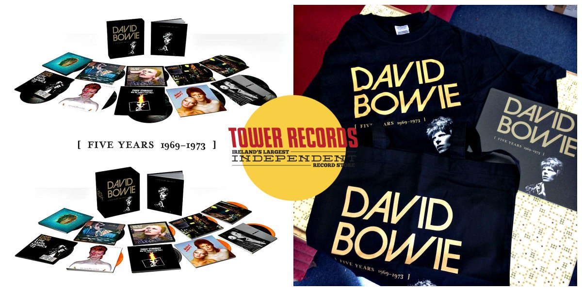 Tower records dublin on twitter hang on to yourself david bowie tower records dublin on twitter hang on to yourself david bowie five years 1969 1973 has landed available in both stores or httptr6wxyhdk3m solutioingenieria Image collections