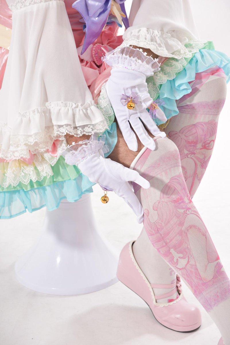 ビアちゃんの新衣装マジカルビアード!!!! みなの力からできた, 今からみなに沢山力あげます! 企画 @AUME100 デザイン @merrygoroundm 製作 塩澤政明 コーディネート @senepocoLB 特別お礼 Tさん!