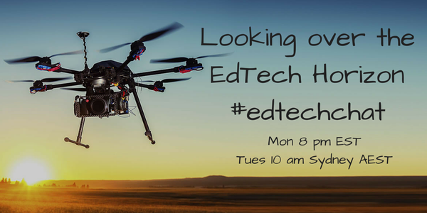 Look over the #edtech horizon w/ #aussieED founder @MRSalakas! #Edtechchat Mon 8 pm ET/ Tues 10 AM AEST http://t.co/e1u6sqGMW7