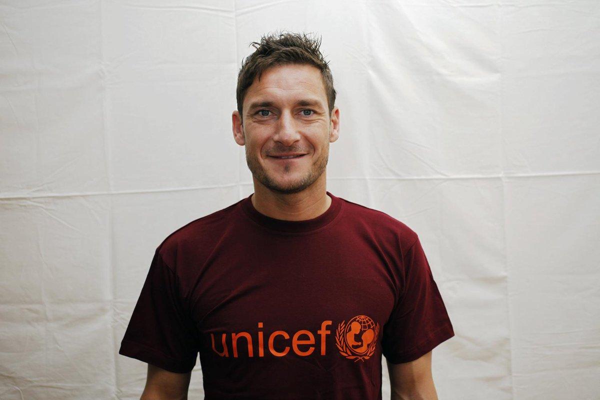 Francesco Totti ambasciatore Unicef.