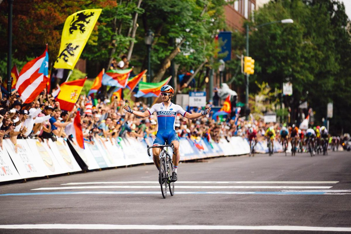 The one and only @petosagan, World Champion! #richmond2015 http://t.co/4poNzbLfxu