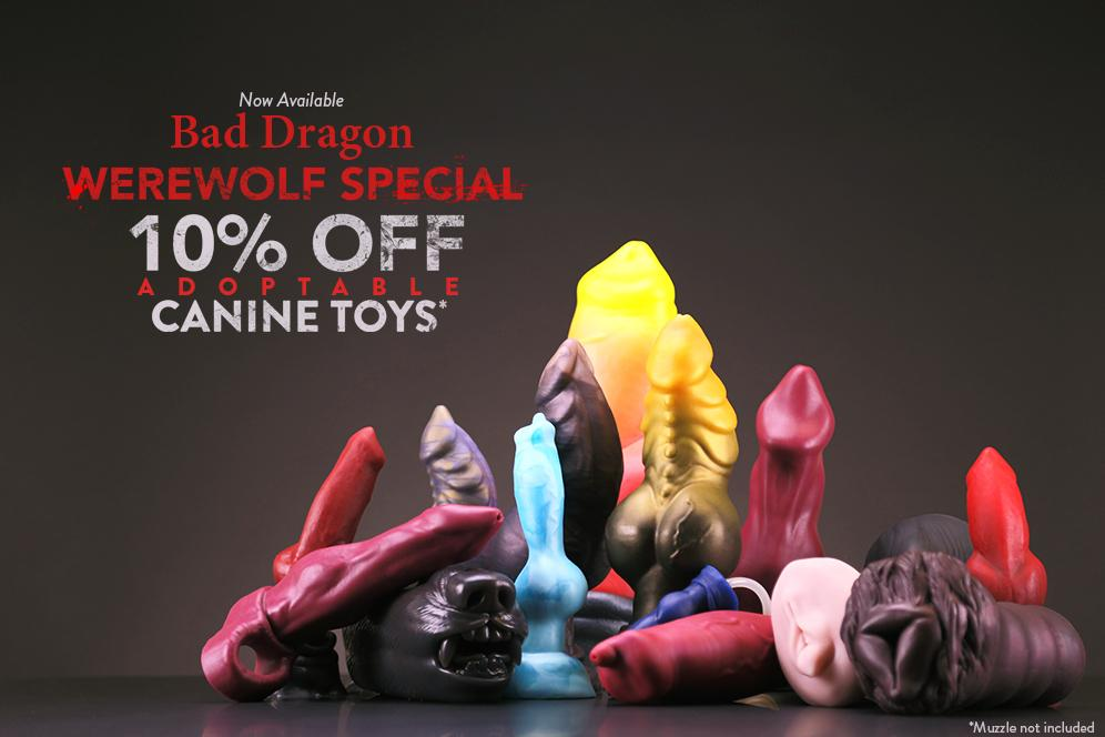 Toys bad dragon Anal sex