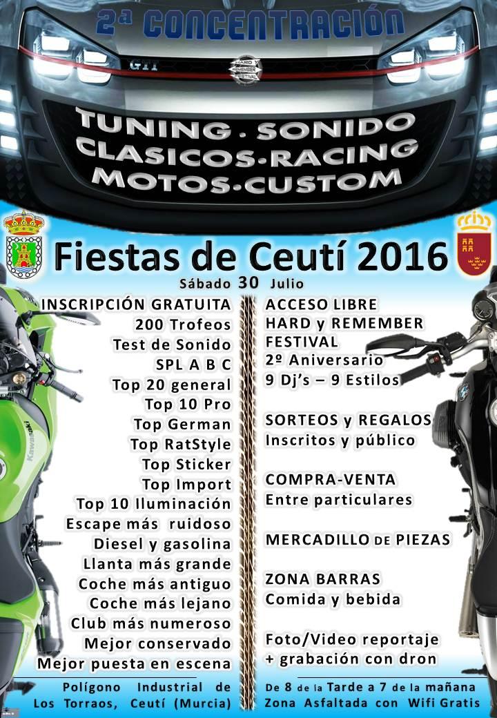 Hard y remember MUSCI MOTOR festival ceuti (Murcia) 2016