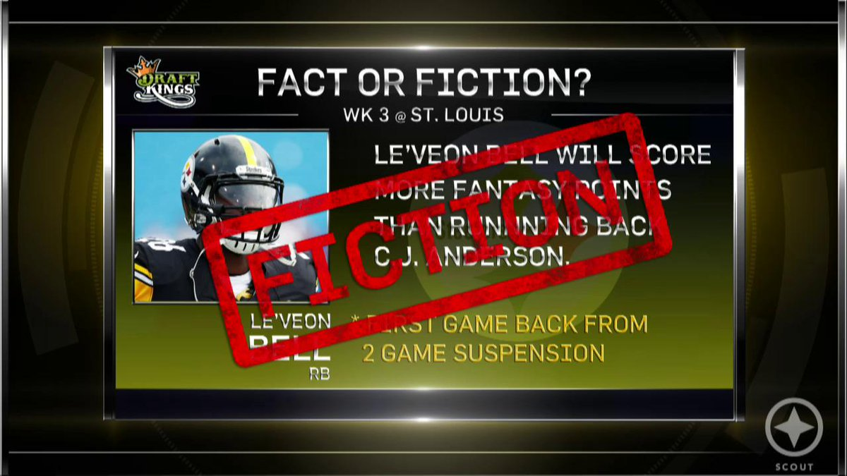 Watch: We've got some @DraftKings Fact or Fiction coming your way! #FantasyFootball #ScoutArmy http://t.co/T0XyT0zrvg http://t.co/j13TDDTXP9