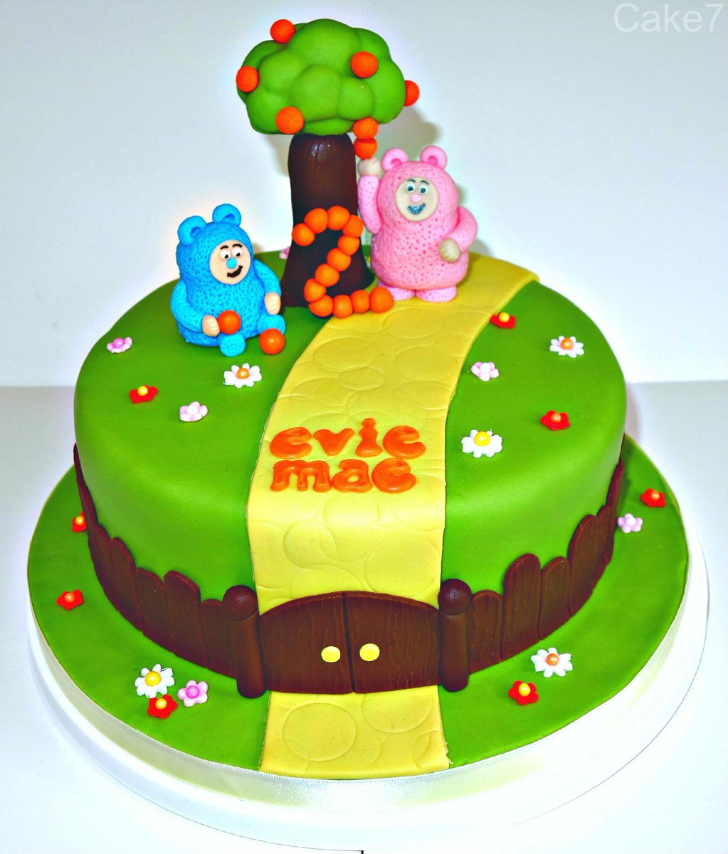 Cake7 On Twitter A Billy Bam Bam From Babytv Themed Cake