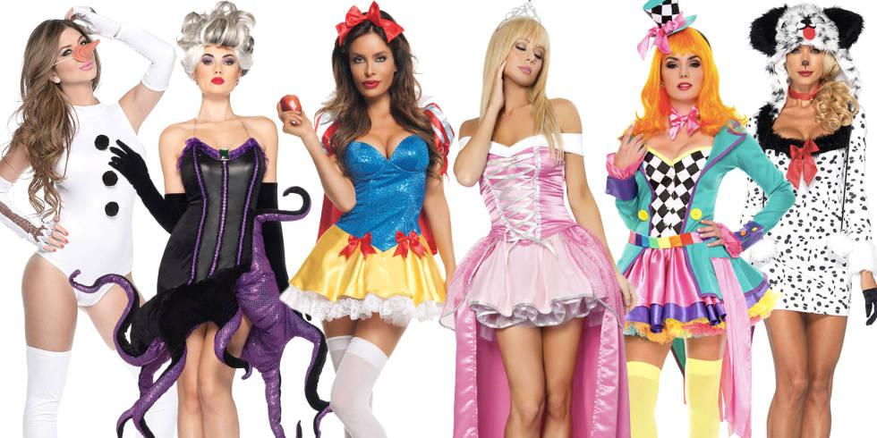 your favorite disney movies as sexy halloween costumes