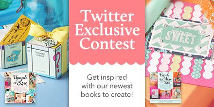 First ever #sizzixtwitter #giveaway! Retweet for a chance to win these awesome #DIY books! http://t.co/TGfZCle29g