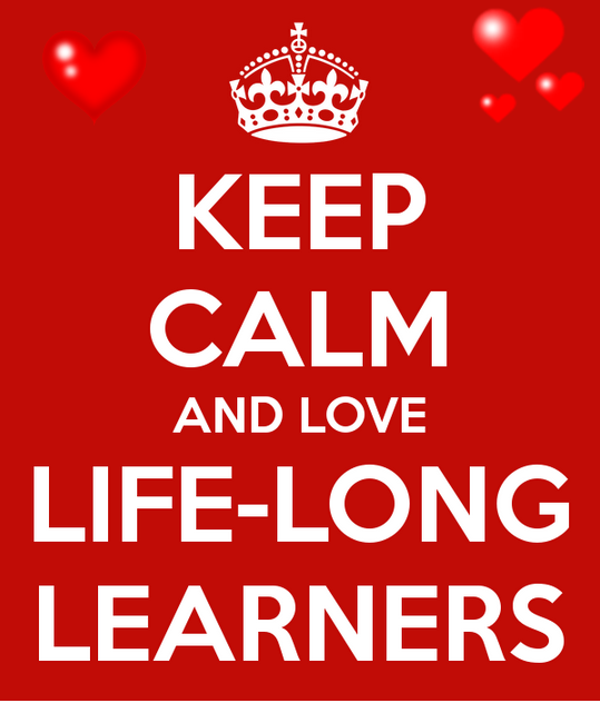 Keep Calm AND #LOVE #LifeLongLEARNers ;) #SunChat #EdChat #EdChatDE #aussieED #EDUcators #TEACHers #EdTechChat #EDU http://t.co/dzWJBZvFAN