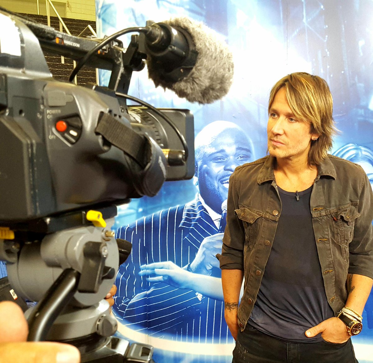 Keith Urban News Update…Keith Is In Denver Today For The