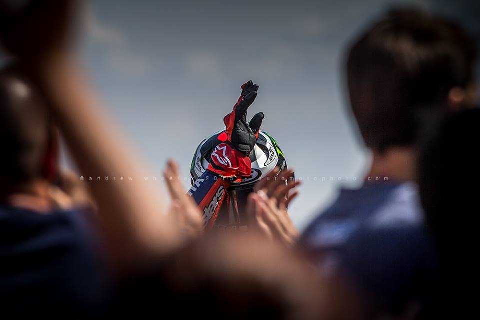 #MotoGP - Leave to @automotophoto to create pieces of photographic art. @lorenzo99's win in epic simplistic beauty. http://t.co/BuTrtHORmk