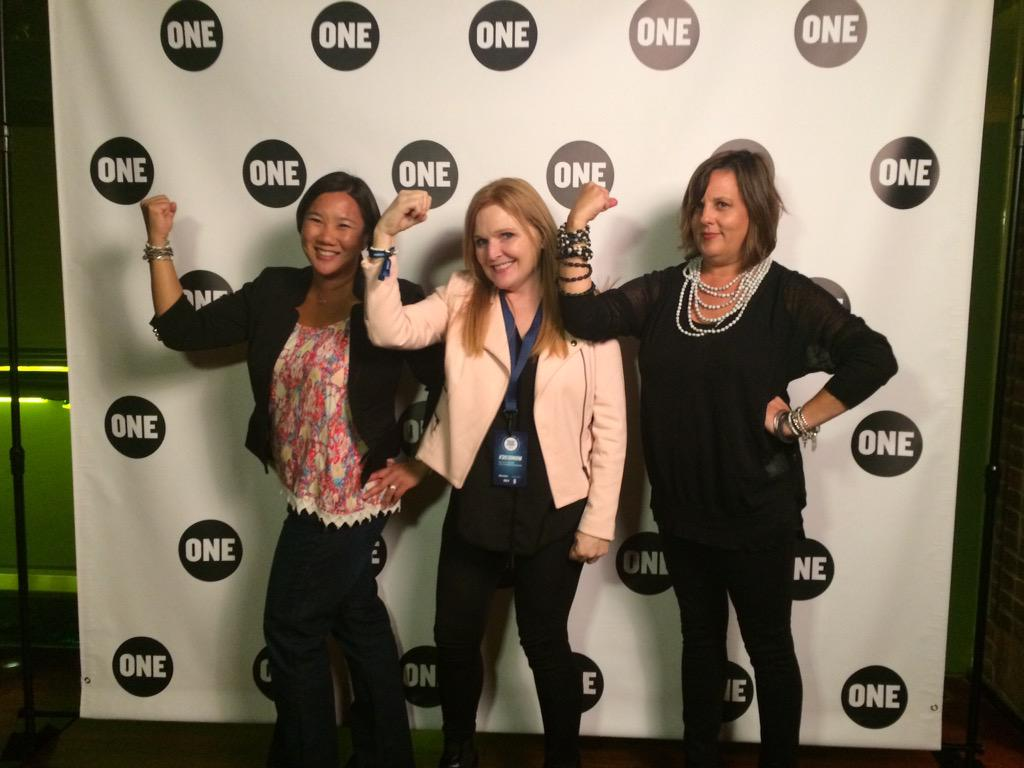 Our #strengthie in support of the @Oneorg campaign #povertyISSexist campaign http://t.co/clOkrpEVp7