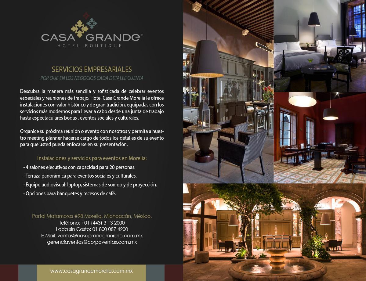 Casa Grande Morelia On Twitter Servicio De Banquete