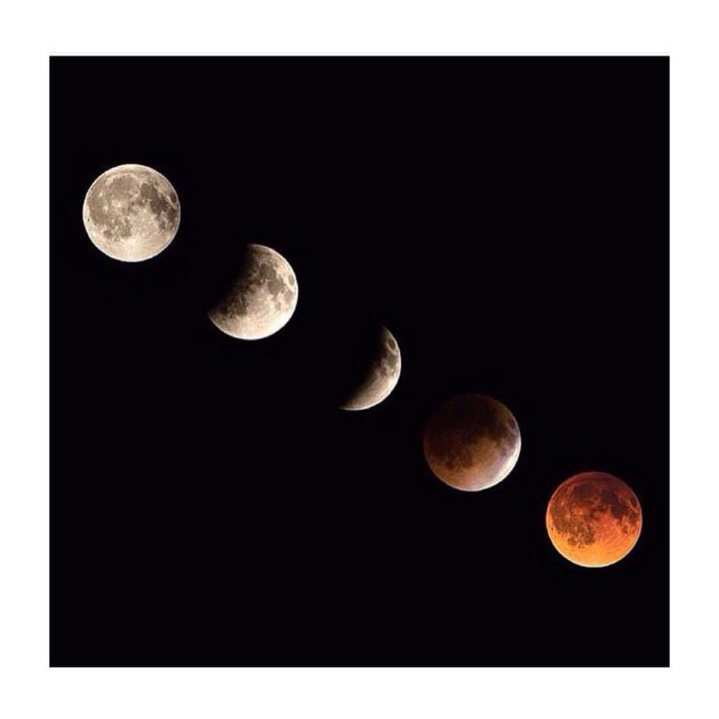 #supermoon to #bloodmoon #eclipse http://t.co/CNIK5Td7Pq
