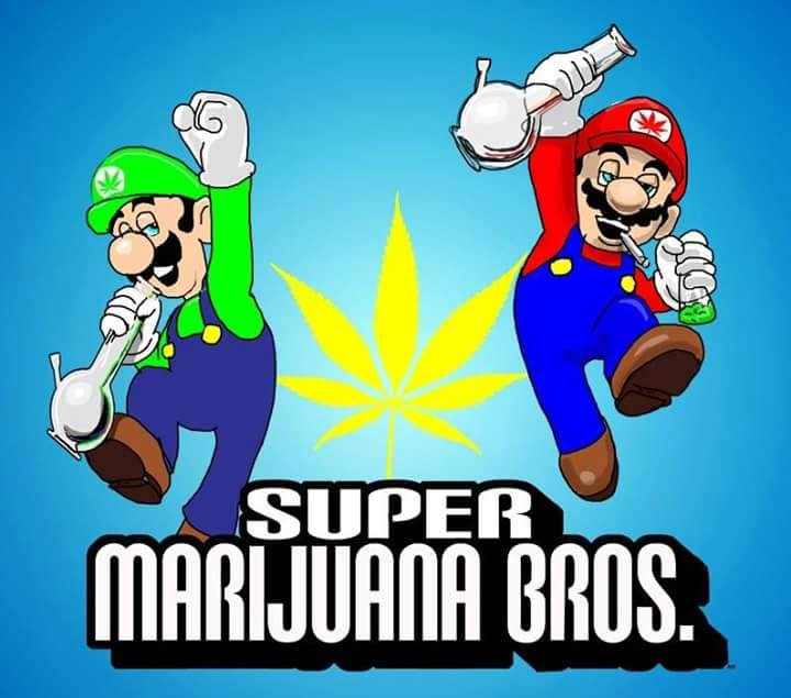The State Of Weed On Twitter Super Marijuana Bros Http T Co