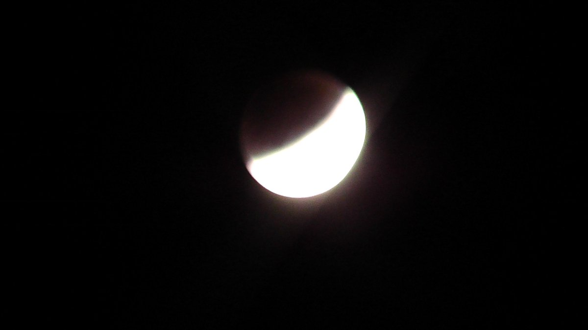 Shots of the lunar eclipse taken from my window here in Bedford, England. A RARE clear night! http://t.co/HNa8w9tdwu