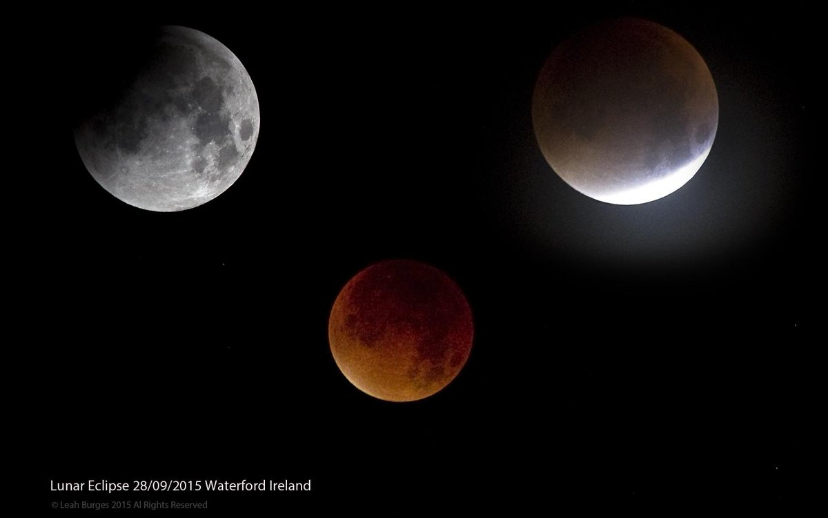 3 phases of #LunarEclipse #bloodmooneclipse Waterford Ireland @VirtualAstro @SPACEdotcom @barrabest http://t.co/8OP6lZZLEw