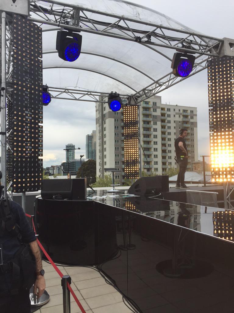 Stage set for @justinbieber #hittheroof #biebermelbourne http://t.co/JXsX8fxr3l