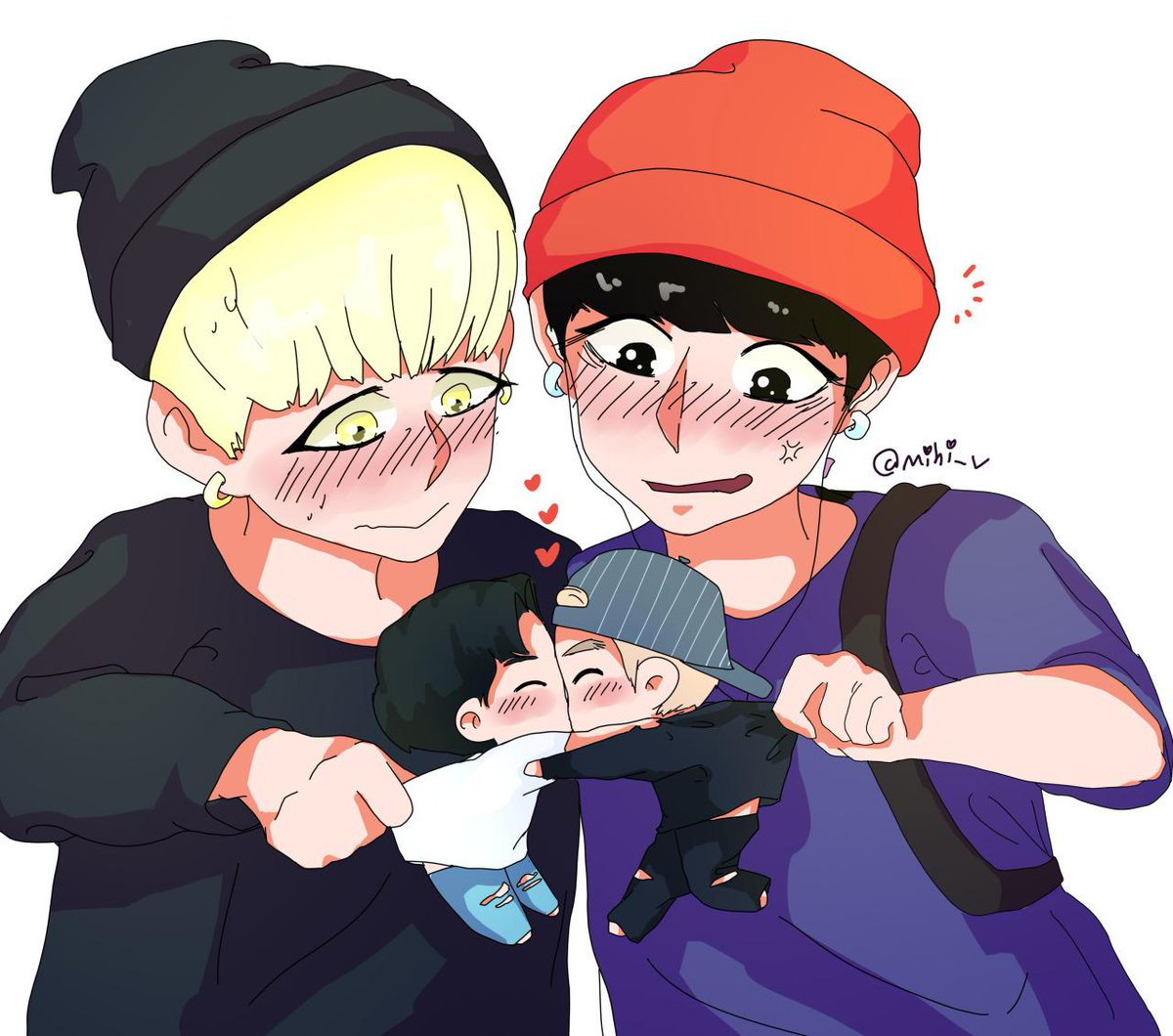 "young to die ♠ on Twitter: ""YOONKOOK¡¡¡¡¡ this is too much cute ..."