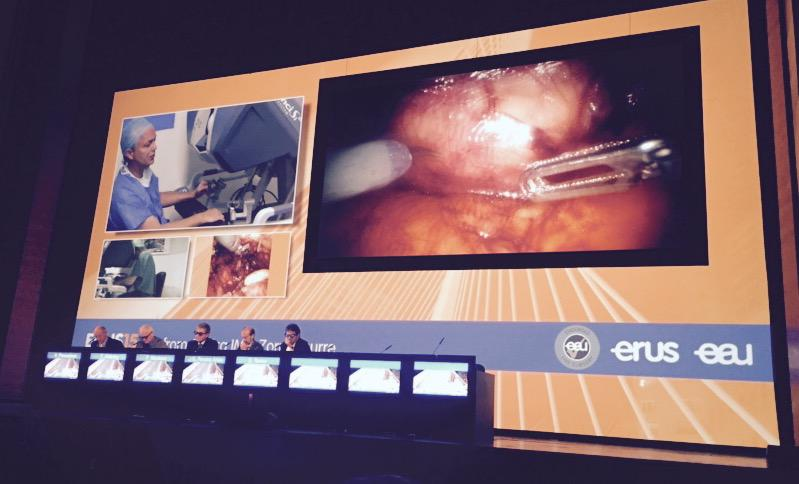 And we're off! The world's top live surgery meeting/festival #ERUS15 kicks off in Bilbao. @daviesbj would love this http://t.co/HRQlfIplHF
