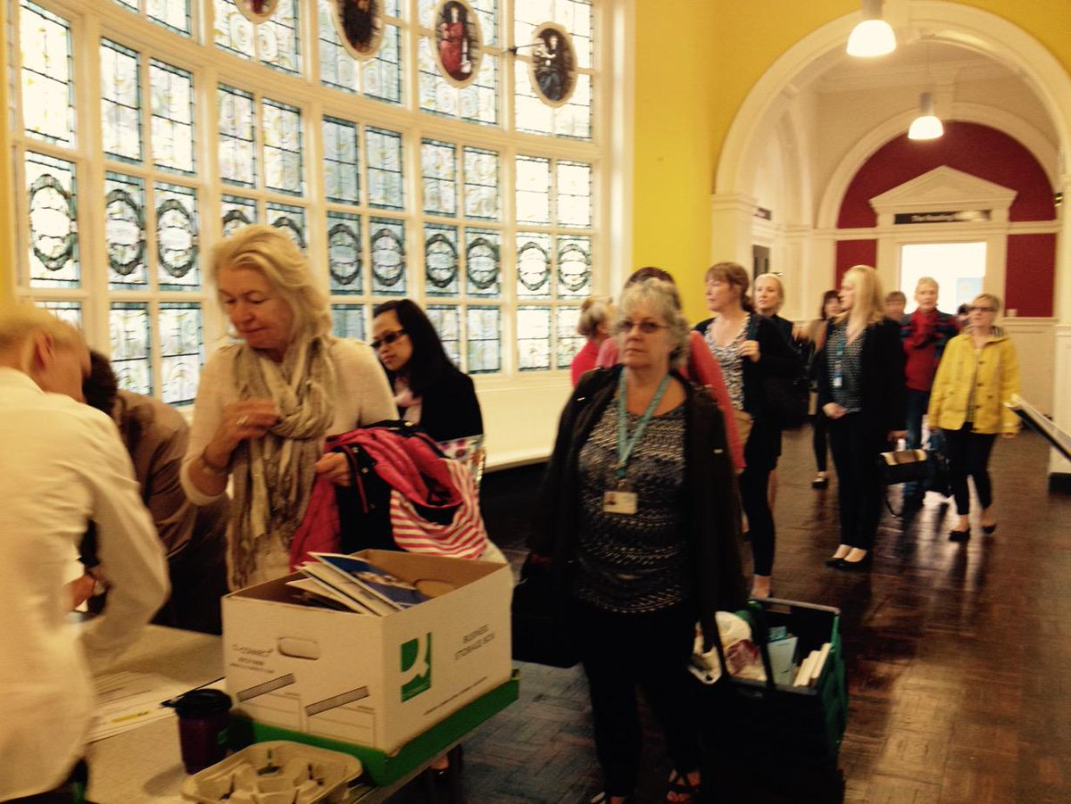 People are arriving to the #dementia conference at Storey in #Lancaster http://t.co/yv7Jlehd7C