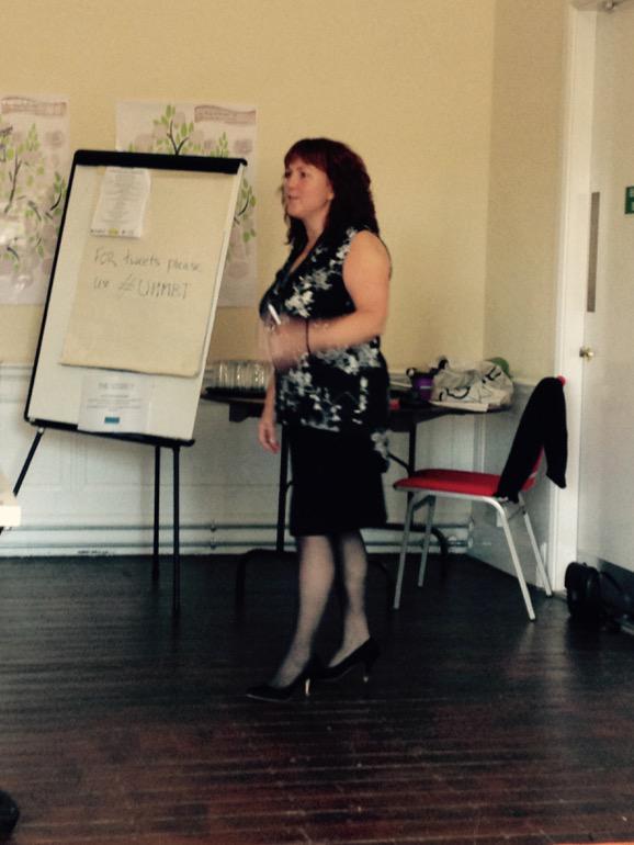 Dementia Matron @diannesmith65 opening the #dementia conference http://t.co/oAz1TAsEzI