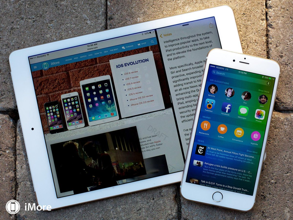 iOS 9 review! It's smarter, slicker, and @reneritchie walks you through all of it! http://t.co/G4whavNtPV http://t.co/VnC7GjLM6d