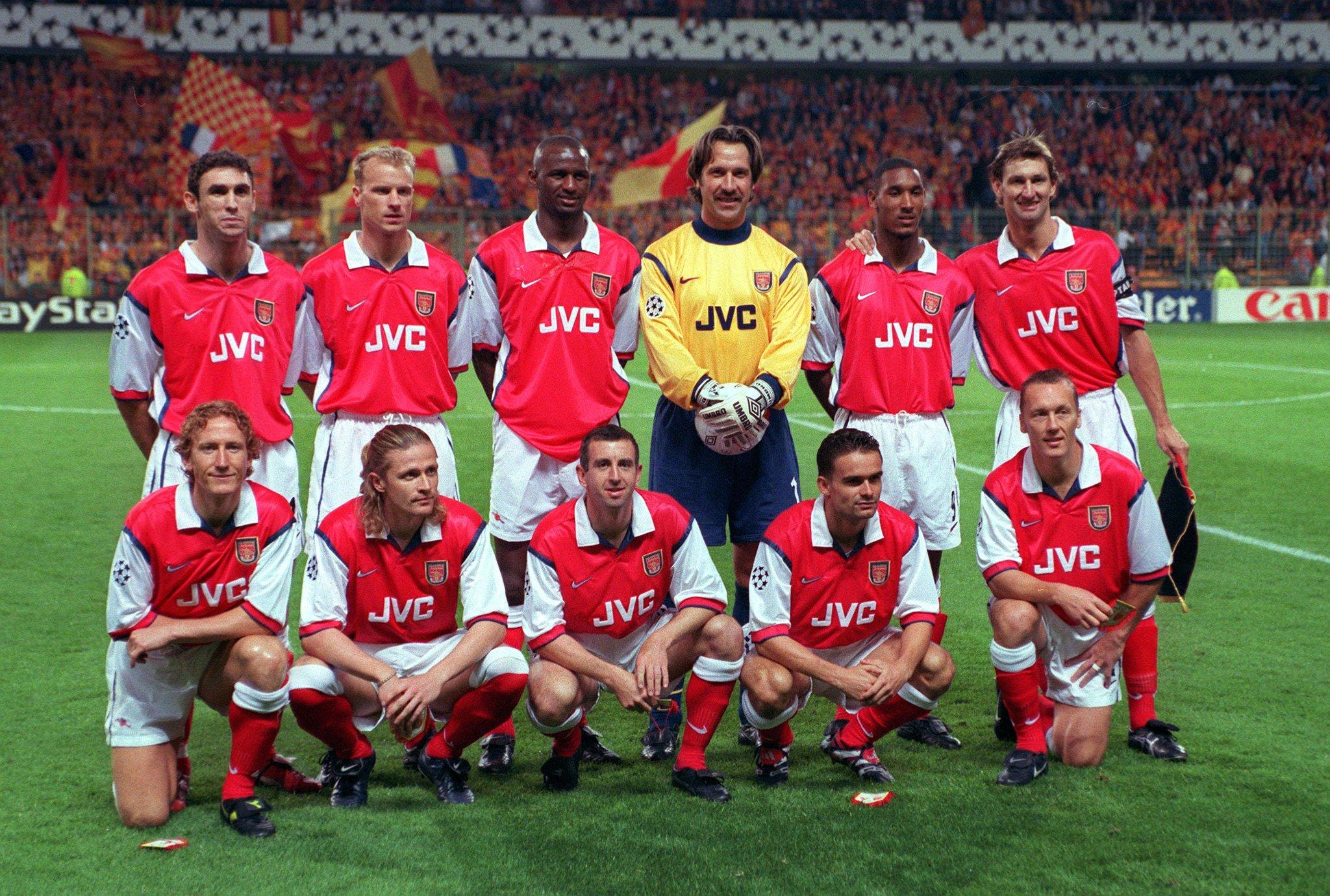 "Arsenal: Arsenal FC On Twitter: ""VIDEO: #OTD In 1998, @Arsenal"