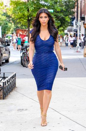 hourglass figure kardashian Kim