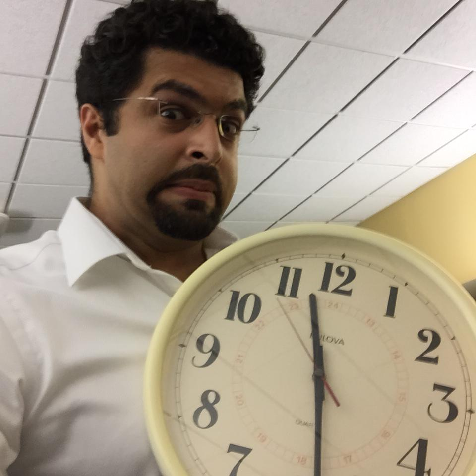 Watch out, it's a brown guy with a clock! #IStandWithAhmed @IStandWithAhmed http://t.co/8lzzrEakoi