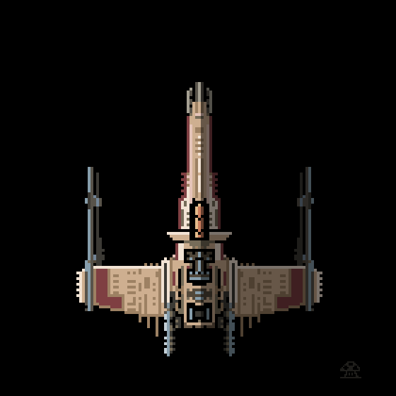 Shroom On Twitter An Xwing Fighter For At Pixeldailies